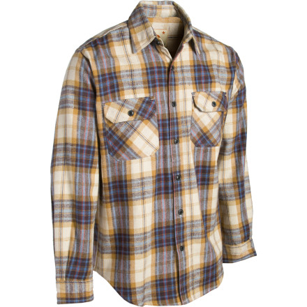 Finish up your flapjacks, pull on the Dakota Grizzly Grover Shirt, sharpen your axe, and get back to work. Or if you're not an actual lumberjack, we suppose you could always just wear it around because it looks cool and stuff. - $25.98