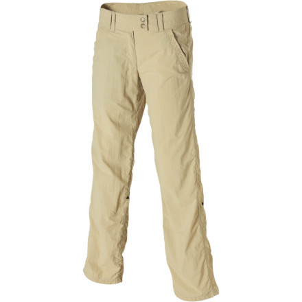 Camp and Hike You're bound to immediately notice the lightweight feel of the quick-drying ExOfficio Women's BugsAway Ziwa Pant, but it may not be until you venture into the Hinterland of Australia's northeast coast that you'll notice the infused insect repellent. - $94.95