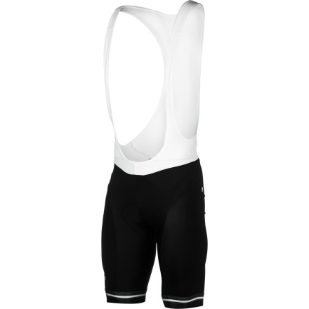 Fitness Contrary to popular belief, quality bib shorts don't have to cost more than your average training wheelset. Case in point are the Giordana Silverline Bib Shorts. Finally, the Silverline has begun to receive trickle-down technology from FormaRed. For a fraction of the price, the Silverline utilizes compressive fabric technologies and Giordana's Core Contour System. Giordana used its patented Moxie fabric for the much of the Silverline shorts construction. With a nylon/spandex composition weight of 200g/m2, the Silverlines take on an effective compressive nature. However, we wouldn't go as far as to call these bib shorts a compression piece. Instead, while assisted blood circulation will help your anaerobic output, we find that Moxie's most vital characteristics involve the inhibiting of muscle of oscillation from road vibration -- a common component to early onset fatigue. Additionally, the material has been treated in order to accelerate the transfer of moisture away from the skin. So, you'll be riding dry and controlled, regardless of your exertion level. Moving to the inner legs and seat panel, Giordana placed an even stronger fabric called Zaffiro. This material is a certified Power Lycra with a composition weight of 200g/m2. But, unlike Moxie, Zaffiro features a purposefully denser weave with Giordana's SUPER 40 construction technology. This guarantees a continuation of Moxie's aforementioned characteristics, only with a higher level of durability and friction-reduction at the highest points of saddle abrasion. Around the area of the core, the Laser utilizes Kite mesh panels in order to effectively regulate your core temperature. Additionally, Giordana placed mesh fabric around the waist as part of its Core Contour System. And while this system used to be exclusive to FR-C, it's trickled down to the Silverline series, only it forgoes the carbon fibers. - $149.95