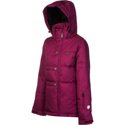 Ski Your winter world went from mild to freezing-cold overnight. Wake up the next morning and reach for the goose-down insulated Orage Women's Bethany Down Jacket. Prime 10 fabric wards off moisture and soggy snow to keep you dry, and it breathes well, too, so you feel comfortable. Orage goes great lengths to make their jackets fit like a glove and look like a million bucks without sacrificing freedom of movement. You'll fall in love with the Bethany so fast, it'll make your beanie-clad head spin. - $77.99
