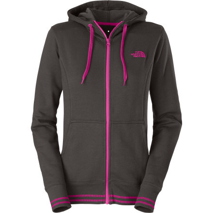The North Face Women's Logo Stretch Full-Zip Hoodie - $54.95
