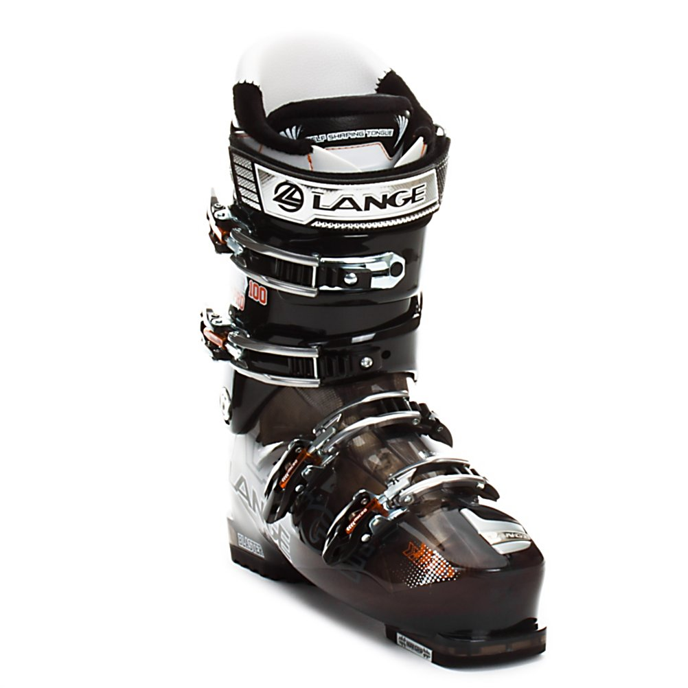 Ski Lange Blaster Pro Ski Boots - Taking the role as most versatile in the Blaster series is the Pro. With a wider 102mm forefoot profile the Blaster Pro offers ample room and comfort while keeping true to Lange with a strong heel pocket. When you combine that with a mellow but supportive 100 flex shell and cuff the Blaster Pro becomes a great boot choice for athletic intermediates up through strong advanced or lightweight experts. Short climbs and ridge trails are no longer walks of agony thanks to the long stride the Climbmatic allows for and the max grip sole helps maintain traction on rocks and slippery bathroom floors. Inside the Blaster Pro is a Control Fit liner that helps to increase both the performance and comfort of the boot. It does this by using pre shaped padding to anatomically cradle the heel for the strongest heel hold that remains surprisingly comfortable for those open to close days. For the final fit and finish four micro adjustable buckles, a powerstrap, and cuff alignment give allow for the little tweaks to get your perfect fit. From skiers just learning to explore where access gates take you to skier who never leave home without their avi gear the Blaster Pro has the support and drive to ski it all. Features: Easy Entry Concept - Notched Lower Shell For Easy Entry And Exit, Max Grip Sole - Better Traction. Actual Flex: 100, Cuff Alignment: Single, Warranty: One Year, Special Features: Climbmatic Cuff Release System, Special Features: Max Grip Sole, Flex: Medium, Used: No, Ski/Walk: Yes, - $299.99