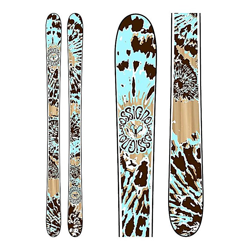 Ski Rossignol Kali Womens Skis - The Rossignol Kali Women's Twin Tip Skis were designed and are ideal for backcountry chicks who want to ski on any terrain. With a waist of 96mm, the Kali from Rossignol will float through the fluffy snow and crush the cruddy snow. A progressive sidecut on the Kali will hook up with ease on in-bounds groomers or backcountry crud. A full wood core gives the Kali an even, forgiving flex with enough power underfoot to handle any snow conditions. Rossignol's own WRS Mini Cap construction will keep the Kali light for quick edge to edge transitions. . Tip/Waist/Tail Widths: 126/96/119mm (@178cm), Actual Turn Radius @ Specified Length: 20.8m (@178cm), Warranty: One Year, Type: All-Mountain Wide Skis (96-110mm), Gender: Womens, What Binding is Included?: None, Construction Type: Cap, Core Material: Wood, Base Material: Sintered, Tail Profile: Twin, Special Features: F.I.T. WRS Mini Cap, Bindings Included: No, Binding DIN: N/A, Rocker: Camber, Binding Weight Range: None, Race: No, Twin Tip: Yes, Alpine Touring: No, Used: No, Titanium: No, Turn Radius: 16-20, Waist Width: 96mm, Ski Gear Intended Use: All Mountain, Skill Range: Intermediate - Advanced, Model Year: 2009, Product ID: 252778, Shipping Restriction: This item is not available for shipment outside of the United States., Model Number: RA8MV04, GTIN: 3109880200580 - $179.91