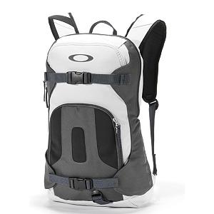 Ski Oakley Snowmad Day Pack Backpack - For resort riding or short backcountry hikes the Oakley Snowmad Day Pack was designed to carry the things you need. They feature diagonal ski straps and horizontal board straps so you can free up your hands during your hike. This day pack has an internal sleeve for your hydration reservoir so you can keep your water cool and keep yourself hydrated during your journey. A soft brushed interior pocket provides a safe place to store your goggles so they don't get scratched or damaged. Additional interior pockets provide you with plenty of storage space for your accessories and a padded back panel makes it fit comfortably against your back making it tolerable to hike in. Features: Pocket with soft brushed interior for stowing your goggles, Internal pockets for your accessories, Safety whistle on sternum strap, Logo and icon accents. Use: Daypack (1 Day), Pack Materials: Heavy-Duty Polyurethane Coated Polyester, Suspended Mesh Panel: No, Sleeping Bag Compartment: No, Model Year: 2013, Product ID: 291779, Actual Pack Capacity (L): 15 L, Loading Style: Panel, Pack Capacity: 10-30 Liters - $70.00