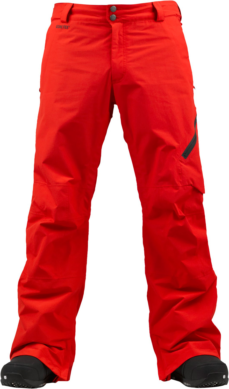 Snowboard Step up to the [ak] advantage. Mandatory GOre-teX fabric performance for the 100-day season.Key Features of the Burton AK 2L Cyclic Snowboard Pants: Waterproofing: Gore-Tex® Fabric (2-Layer) Fully taped seams with Gore-Seam® tape [13MM] Warmth: mapped with Mesh Lining [ak] Fit with engineered articulation YKK® Matte water-resistant Zippers Zippered Cargo Pocket Light reflective Detailing Lifetime warranty Includes Men's [ak] Pant Features Package GORE-TEX® Fabric Fully Taped Seams with GORE-SEAM® Tape [ak] Fit with Engineered Articulation Inner Thigh Vents Integrated Waist Adjustment [ak] Logo Fly Shanks Ghetto Slits Snap-Up Leg Lifts™—Keep Your Cuffs Scuff-Free Lifetime Warranty Zippered, Microfleece-Lined Handwarmer Pockets Jacket-to-Pant Interface Boot Gaiter with Cuff-to-Boot Interface Headphone Cable Port - $231.95