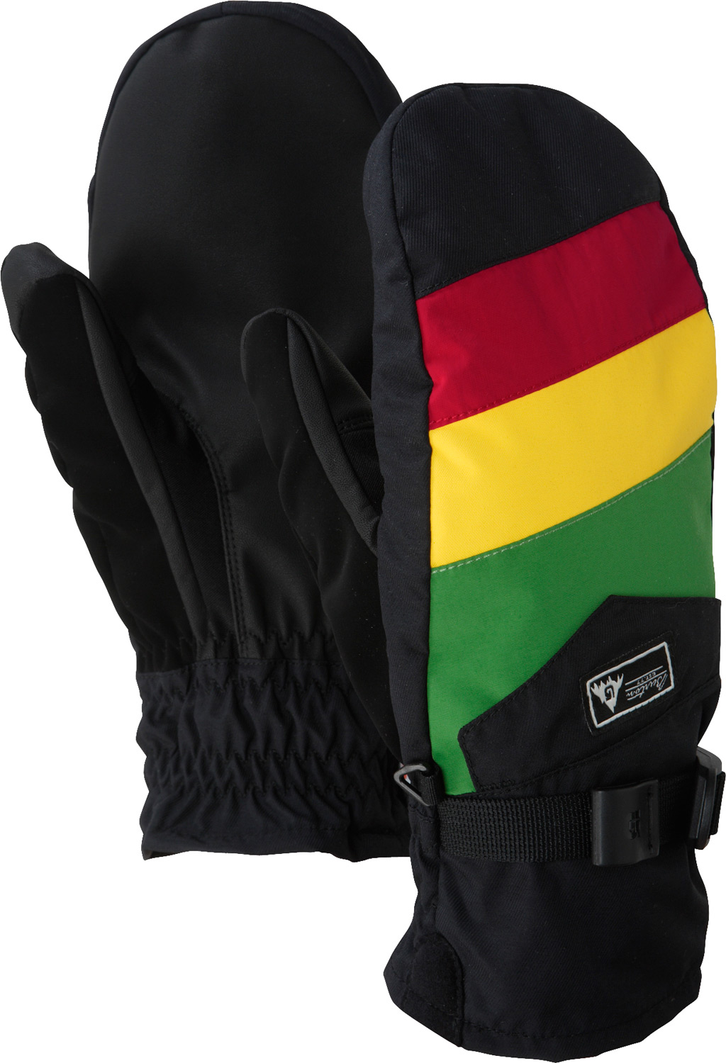 Snowboard Adapt to any condition-the team's favorite for 3-in-1 versatility.Key Features of the Burton Approach 12 Under Snowboard Mittens: DRYRIDE Ultrashell 220G Removable Liner TougGrip Palm Soft Chamois Goggle Wipe Pistol Grip pre-curved fit - $36.95