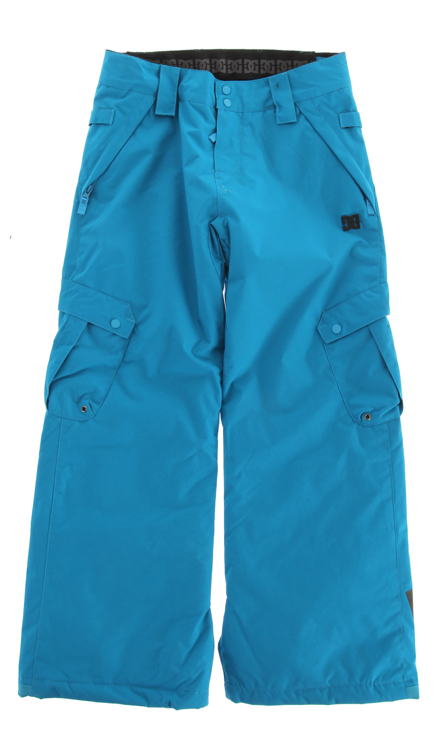 Snowboard DONON is featuring 8K breathable and waterproof fabric and 80g insulation to keep every kid warm and dry in the snow. Shant control in cargo pockets allows you to adjust the leg length and wear it season after season.Key Features of the DC Donon Snowboard Pants: 8,000mm Waterproof 8,000g Breathability Standard fit 80 gram insulation Critically taped seams Shant control Boot gaiter - $69.95