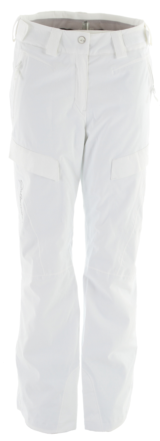 Ski Relaxed fitting, insulated pants with stretch climapro fabric, inner leg vents.Key Features of the Salomon Response II Ski Pants: Climapro Actiloft insulation 60GR/M+ 100% Taped Waist adjustment Active fit - $119.95