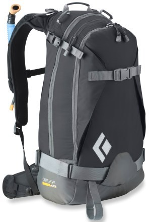 Snowboard Black Diamond Outlaw AvaLung Ski Pack $182.93