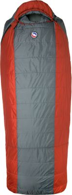 Camp and Hike When you want or need more room, this Big Agnes Hog Park 20 Degree Sleeping Bag is extra-roomy and extra-comfortable at 25 wide. Campers up to 66 with a chest size up to 56 will fit comfortably. Thermolite Quallofill synthetic insulation provides warmth even when wet thanks to patented seven-hole construction. No-draft collar seals around neck, keeping cold air from sneaking in. No-draft wedge insulates the connection between the bag and pad. No-draft zipper tube insulates along the length of the 70 YKK No. 8 zipper. Shell fabric is downproof and nylon microfiber ripstop with a waterproof treatment. Soft and breathable cotton/polyester blend lning with stain-resistant finish. Pad sleeve fabric is nylon ripstop with a water-repellent treatment. Slip a pad (sold separately) into the bag and itll stay in place all night. Built-in pillow pocket holds a fleece or travel pillow. Nylon stuff sack included. Imported.Pad size needed: 25 x 78. - $118.96