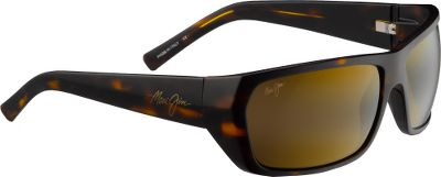 Entertainment The Maui Jim Waimea Canyon Polarized Sunglasses feature a contemporary twist on a clean, classic unisex look for whatever you do in the sun. PolarizedPlus2 lenses block 99.9% of glare, 100% of UV rays. ST (SuperThin) Glass (20% thinner and lighter) lenses are available in two distortion-free colors: HCL Bronze for variable light and High-Transmission, high-performance Maui HT that lets in the most usable light. High-grade nylon frame is light and durable. Anti-corrosive hinges and built-in nose pads provide a secure, comfortable fit. Case and cleaning cloth included.The Skin Cancer Foundation recommends this product as an effective UV filter for the eyes and surrounding skin. - $229.00