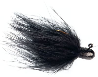 Fishing Hand tied using premium marabou, each jighead is painted with epoxy paint and finished with metal-flake clear coat. Ideal for finesse presentations for panfish and trout. Per 2. Sizes: 1/125 oz., 1/16 oz., 1/8 oz. Colors: Black, Chartreuse/Fluorescent Orange, Dark Brown/Burnt Orange, Dark Brown, Fluorescent Pink, Grey/White, Olive, Olive/Peach, White. Color: Chartreuse. Type: Marabou Jigs. - $2.99