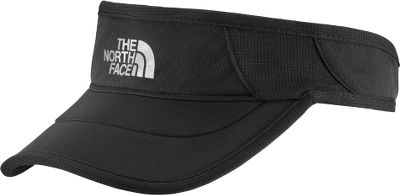 The race-inspired moisture-wicking GTD Visor from The North Face sports a split-density bill for optimal comfort on long runs. UPF rating of 50. Lightweight with an adjustable back. 100% polyester. Imported. Sizes: S/M, L/XL. Colors: TNF Black/TNF Black, TNF White/TNF White, Vitamin C Orange. Size: L. Color: Vitamin C Orange. Gender: Female. Age Group: Adult. Material: Polyester. - $19.88