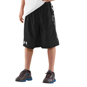 Fitness Lightweight, smooth woven fabric provides the perfect balance of comfort and durabilitySignature Moisture Transport System wicks sweat and dries quickly to keep you cool and lightElastic waistband moves with you and delivers a secure fit Large left leg Under Armour(R) scriptPolyesterImported - $18.99
