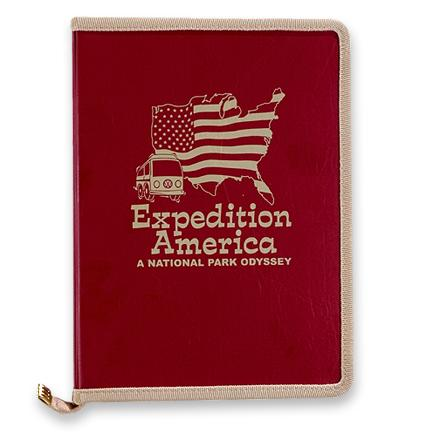 Camp and Hike Bound in a travel-friendly three-ring binder with zipper closure, this guide supplies information on every national park in America. - $11.93