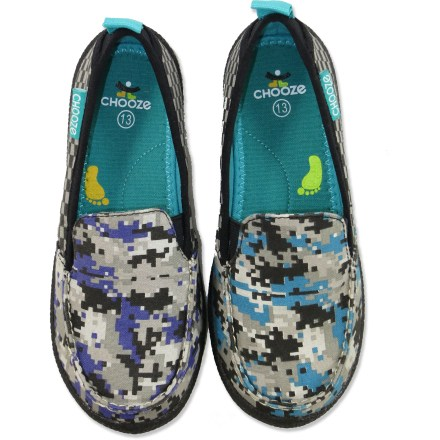 With a fun, unique style and amazing comfort, the Chooze Scout shoes will be his go-to footwear for summer adventures. - $10.83