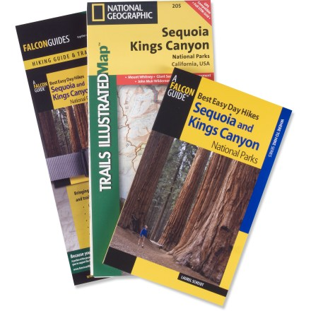 Camp and Hike The Hiking Guide and Trail Map Bundle: Sequoia and Kings Canyon National Parks includes Best Easy Day Hikes: Sequoia and Kings Canyon and a Trails Illustrated map. - $19.95
