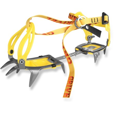 Ski Are you climbing a glaciated peak this summer? The Grivel G-10 New-Classic crampons are ideal for general mountaineering and will fit most styles of boots, from leather to synthetic to plastic. - $129.95