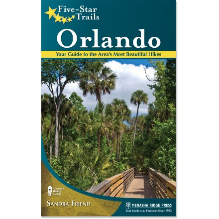 Camp and Hike Five Star Trails: Orlando includes 37 beautiful hikes within a 60 min. drive of downtown Orlando. - $7.83