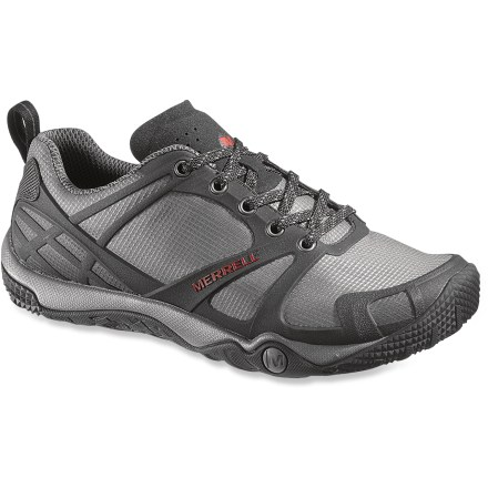 Camp and Hike The Merrell Proterra Sport hiking shoes are a great choice for fast-paced trail adventures. With a great fit and amazing comfort, they'll be your go-to choice for summer outings. - $49.83