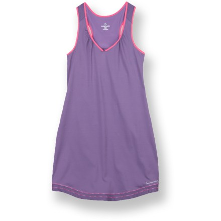 Fitness Add a little pep to your running wardrobe with the stylish and comfortable Moving Comfort Distance Run dress. - $21.73