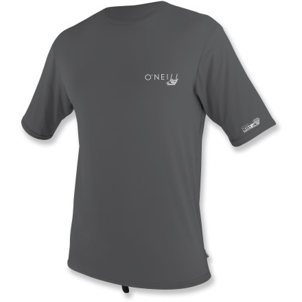 Kayak and Canoe Featuring high recycled content, the O'Neill Skins RG8 rashguard T-shirt brings soft, quick-drying comfort to your day on the water. - $15.83
