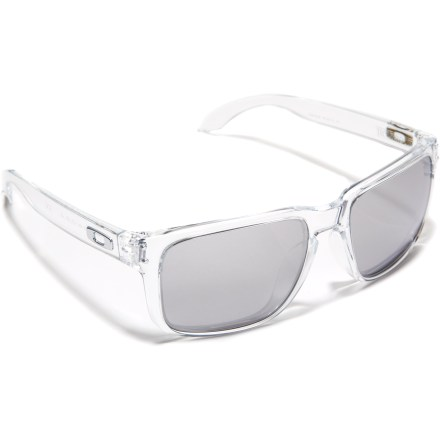 Camp and Hike Inspired by Shaun White and reminescent of vintage Oakley eyewear, the Holbrook sunglasses bring style and sun protection to any activity. - $140.00