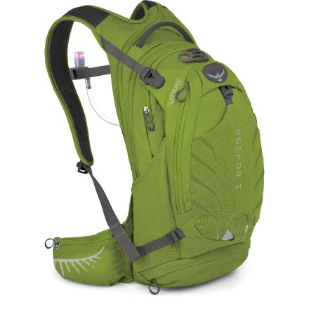 Fitness With plenty of gear-carrying capacity, the Osprey Raptor 14 hydration pack is designed for 3+ hour long rides and includes a 100 fl. oz. reservoir to ensure you're well hydrated. - $77.93