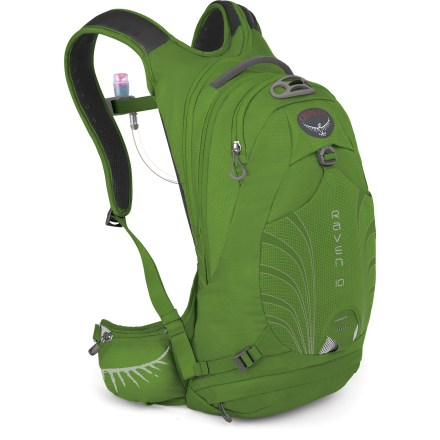Fitness The Osprey Raven 10 hydration pack features a women-specific design, 100 fl. oz. liquid capacity and enough gear capacity to carry what you need for your trail rides that last 1.5 to 3 hours. - $89.83