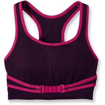 Fitness The Patagonia Switchback sports bra provides active women seamless comfort and plenty of support for high-impact activities. - $17.73