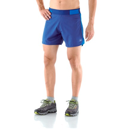 Fitness REI Airflyte Distance shorts will have you shooting for a personal best during long training runs. Quick-drying and lightweight fabric delivers 4-way stretch and a soft feel against skin. - $10.83