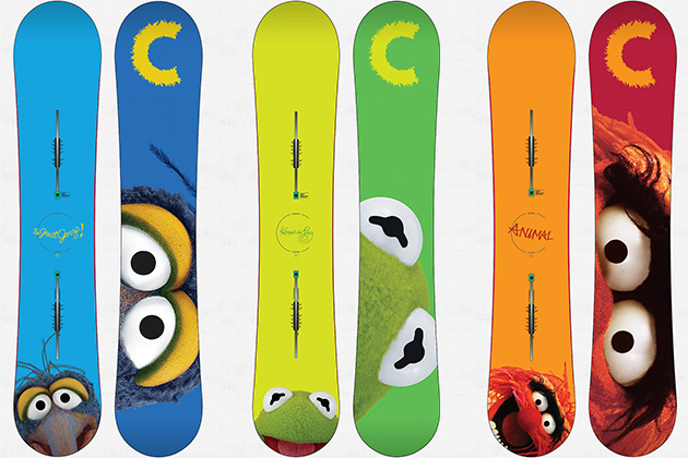 Snowboard Cool Items Now Available:  Muppets Burton Snowboards