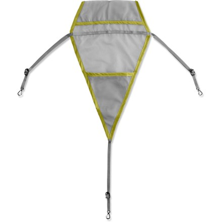 Camp and Hike Keep small items within reach, but out of the way, with the triangular Gear Loft from The North Face. Compatible with these North Face tents (not included): Him 35, Mica 12, Flying Frog 33, Big Fat Frog 24, and Tadpole 23. - $9.93
