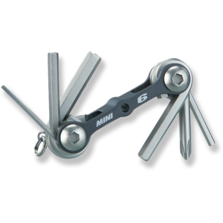 Fitness Great for the minimalist rider, the Topeak Mini 6 multi-tool offers 6 basic tools in a compact and easily stowed design. - $9.95