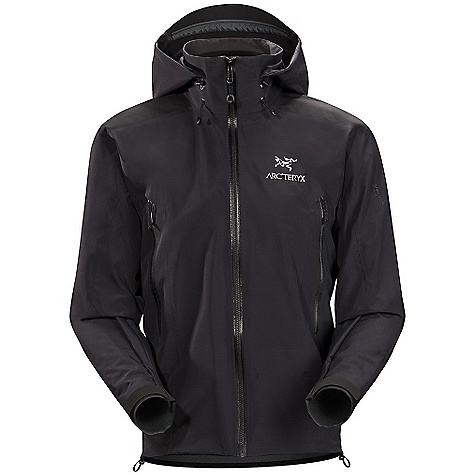 Camp and Hike On Sale. Free Shipping. Arcteryx Men's Beta AR Jacket DECENT FEATURES of the Arcteryx Men's Beta AR Jacket Waterproof Breathable Lightweight Durable DWR finish (Durable Water Repellent) helps bead water from fabric surface Micro-seam allowance (1.6 mm) reduces bulk and weight Tiny GORE seam tape (13 mm) Gore-Tex three-layer construction Laminated high-strength hanger loop One-hand adjustable drawcords Articulated elbows No-lift gusseted underarms Helmet compatible Drop Hood Laminated chin guard Two hand pockets with laminated zippers Internal chest pocket with laminated zip WaterTight external zippers Molded zipper garages Laminated pit zippers allow for faster venting WaterTight Vislon front zip Laminated die-cut Velcro cuff adjusters reduce bulk, and won't catch or tear off Drop back hem Laminated hem Adjustable hem drawcord Laminated wind flap Heat transfer logo Reinforced shoulders and arms We are not able to ship Arcteryx products outside the US because of that other thing. The SPECS Weight: Medium: 15.3 oz / 433 g Fit: Athletic fit, waist length Materials: 380NR Gore-Tex Pro Shell 3L, 480N Gore-Tex Pro Shell 3L Style: Jackets Waterproof Shell Activity: All Around / Hiking / Trekking This product can only be shipped within the United States. Please don't hate us. - $349.99