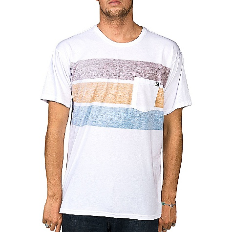 Surf Billabong Men's Three Way Tee DECENT FEATURES of the Billabong Men's Three Way Tee Regular fit tee with a softhand front screen print Sleeve clamp label Pvc-free heat sealed neck label The SPECS 50% Recycled polyester 50% Organic cotton - $31.95