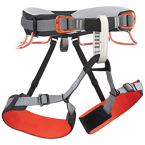Climbing Free Shipping. Black Diamond Momentum 3S Harness DECENT FEATURES of the Black Diamond Momentum 3S Harness Pre-threaded Speed Adjust buckles on waistbelt and leg loops Bullhorn-shaped OpenAir waistbelt built using Dual Core Construction Adjustable, releasable elastic rear riser 4 pressure-molded gear loops 12 kN-rated haul loop The SPECS Weight: 13 oz / 370 g 210d nylon twill + 150d polyester mesh 4-way nylon knit The SPECS for Small Waist: 27 x 30in. / 69 x 76 cm Legs: 18 x 22in. / 45 x 56 cm The SPECS for Medium Waist: 30 x 33in. / 76 x 84 cm Legs: 20 x 24in. / 51 x 61 cm The SPECS for Large Waist: 33 x 36in. / 84 x 91 cm Legs: 22 x 26in. / 56 x 66 cm The SPECS for Extra Large Waist: 36 x 39in. / 91 x 99 cm Legs: 24 x 28in. / 61 x 71 cm - $59.95