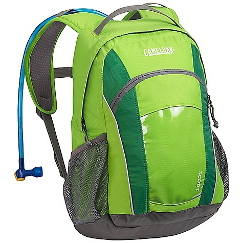 Fitness On Sale. Free Shipping. CamelBak Scout 50oz Hydration Pack DECENT FEATURES of the CamelBak Scout 50oz Hydration Pack Kids' fit Reservoir hanger loop Diamond mesh harness Discovery pocket Side pocket Safety whistle Designed to Carry: Extra layers, food, trail maps, sunglasses, sticks and bugs The SPECS Total Capacity: 670 cubic inches / 11 liter + 1.5 liter Reservoir Pack Only Weight: 16 lbs / 460 g Dimension: 16 x 9.5 x 7in. / 40 x 24 x 18 cm Hydration Capacity: 50 oz / 1.5 liter Frame Size: 14 in / 36 cm Fabric: 70D Diamond Clarus and 420 Nylon with DWR + 1000 mm PU - $42.99
