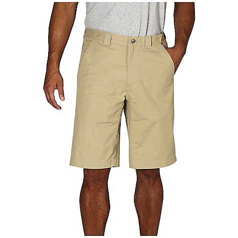Free Shipping. Ex Officio Men's Roughian Short DECENT FEATURES of the Ex Officio Men's Roughian Short Two security zip pockets Locker loop High Strength: Fabric has high tear strength ratio for maximum durability Stretch: Stretch fabric provides maximum mobility and comfort during activity Pre-Shrunk: Pre-washed to prevent shrinking Sun Guard 50+: Specialized fabric rated with a UPF (Ultraviolet Protection Factor) absorbs and reflects harmful rays, preventing them from damaging your skin The SPECS Natural fit Inseam: 12in. Roughian Canvas 75% Cotton/22% Polyester/3% Spandex - $74.95