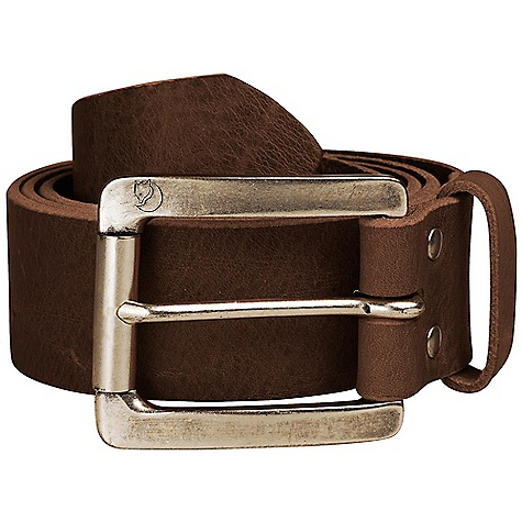 Free Shipping. Fjallraven Vikna Belt DECENT FEATURES of the Fjallraven Vikna Belt Classic belt in vegetable tanned leather Logo embossed in the metal buckle The SPECS 100% leather - $64.95