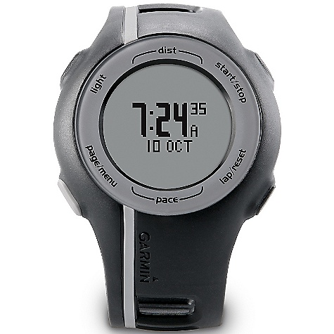 Camp and Hike On Sale. Free Shipping. Garmin Forerunner 110 DECENT FEATURES of the Garmin Forerunner 110 GPS enabled Heart rate-based calorie computation Water resistant (IPX7) Heart rate monitor (some versions) Garmin Connect compatible Garmin Training Center software Auto Lap Sport Watch The SPECS Unit Dimensions (W x H x D): 1.8in. x 2.7in. x 0.6in. / 4.5 x 6.9 x 1.4 cm Display Size (W x H): 1.0in. x 1.0in. / 2.5 x 2.5 cm Diameter Display Resolution (W x H): 52 x 30 pixels Weight: 1.8 oz / 52 g Battery: Rechargeable li-polymer Battery Life: 3 weeks in power save mode; 8 hours in training mode High-sensitivity receiver Lap History: 1000 laps - $139.99