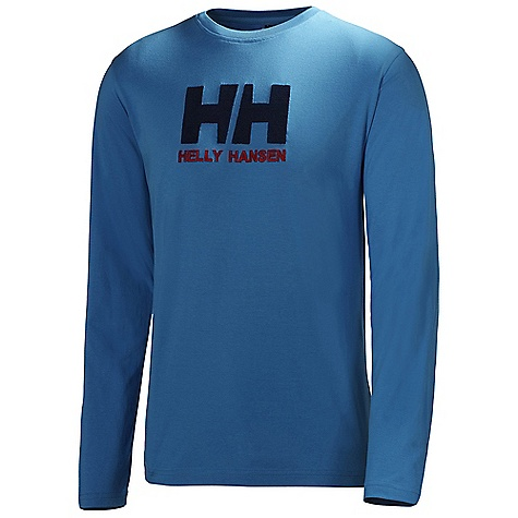 Helly Hansen Men's HH Logo LS Tee DECENT FEATURES of the Helly Hansen Men's HH Logo Long Sleeve Tee Long sleeve t-shirt Single Jersey HH logo on chest The SPECS Fitting: Regular 100% Cotton This product can only be shipped within the United States. Please don't hate us. - $29.95