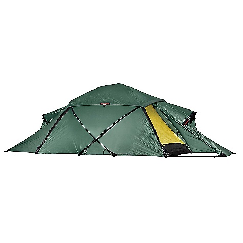 Climbing Free Shipping. Hilleberg Saivo 3 Person Tent DECENT FEATURES of the Hilleberg Saivo 3 Person Tent Kerlon 1800 outer tent fabric and 10 mm poles with multiple crossing points make for an exceptionally stable tent with outstanding snow-load handling capability Multiple guy lines on the tent, the vestibule vent hoods and the vent cover afford even greater stability. Many of the guy line attachment loops on the tent are designed to be wrapped around poles or pole crossing points for maximum support The Saivo has plenty of room for three occupants and their gear Dual entrances ensure that one door can always be situated out of the wind and provide flexible entry/exit options The Saivo's ventilation system functions regardless of the weather conditions, thanks to its integrated components Highly breathable yet water repellent inner tent fabric Inner tent doors have a full no-see-um mesh panel covered with an equal sized, zipper-adjustable fabric panel for greater venting and weather protection options Large vents in each vestibule, placed high enough to keep air moving even if the tent is dug down into deep snow Vestibule vents backed with no-see-um mesh and adjustable, air-permeable snow-proof panels that are accessible from inside the vestibules Roof vents in the inner and the outer tents that are accessible from inside the tent The inner tent roof vents can be opened or closed completely, and have no-see-um mesh backed by zipper-adjustable fabric panels A separate vent cover ensures that the weather stays on the outside, even if the vents are fully open The SPECS Capacity: 3 Minimum Weight: 8 lbs 13 oz / 4.0 kg Packed Weight: 11 lbs / 5.0 kg Inner Height: 46in. / 115 cm Inner Tent Area: 40 square feet / 3.7 square meter Vestibule Area: 2 x 14 square feet / 2 x 1.3 square meter Pole (10 mm): 4 x 154.7in. / 4 x 393 cm Pegs: 24 Y-Pegs This product can only be shipped within the United States. Please don't hate us. Moosejaw CANNOT ship Hilleberg products to Japan, Hong-Kong, Korea, or any country in Europe. Sorry about everything. - $1,075.00