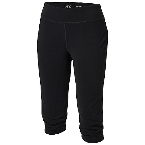 Free Shipping. Mountain Hardwear Women's Nulana Knicker DECENT FEATURES of the Mountain Hardwear Women's Nulana Knicker Super durable pick-resistant warp knit construction Wicking, fast drying, stretch fabric Low-profile waistband Reverse entry pocket at back inside waistband The SPECS Average Weight: 7 oz / 201 g Inseam: 15in. / 38 cm Body: Nulana Warp knit (85% nylon, 15% spandex) - $64.95