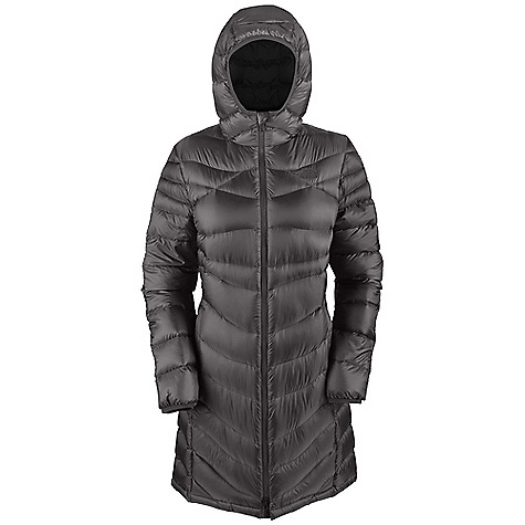 On Sale. Free Shipping. The North Face Women's Upper West Side Jacket DECENT FEATURES of The North Face Women's Upper West Side Jacket Attached, insulated, bound hood Center front zip Hand pockets Bound cuffs The SPECS Average Weight: 19.75 oz /560 g Center Back: 37.25in. Fabric: Body: 20D 35 g/m2 (1.0 oz/yd2) 100% nylon ripstop cire with DWR, Insulation: 700 fill goose down This product can only be shipped within the United States. Please don't hate us. - $229.99