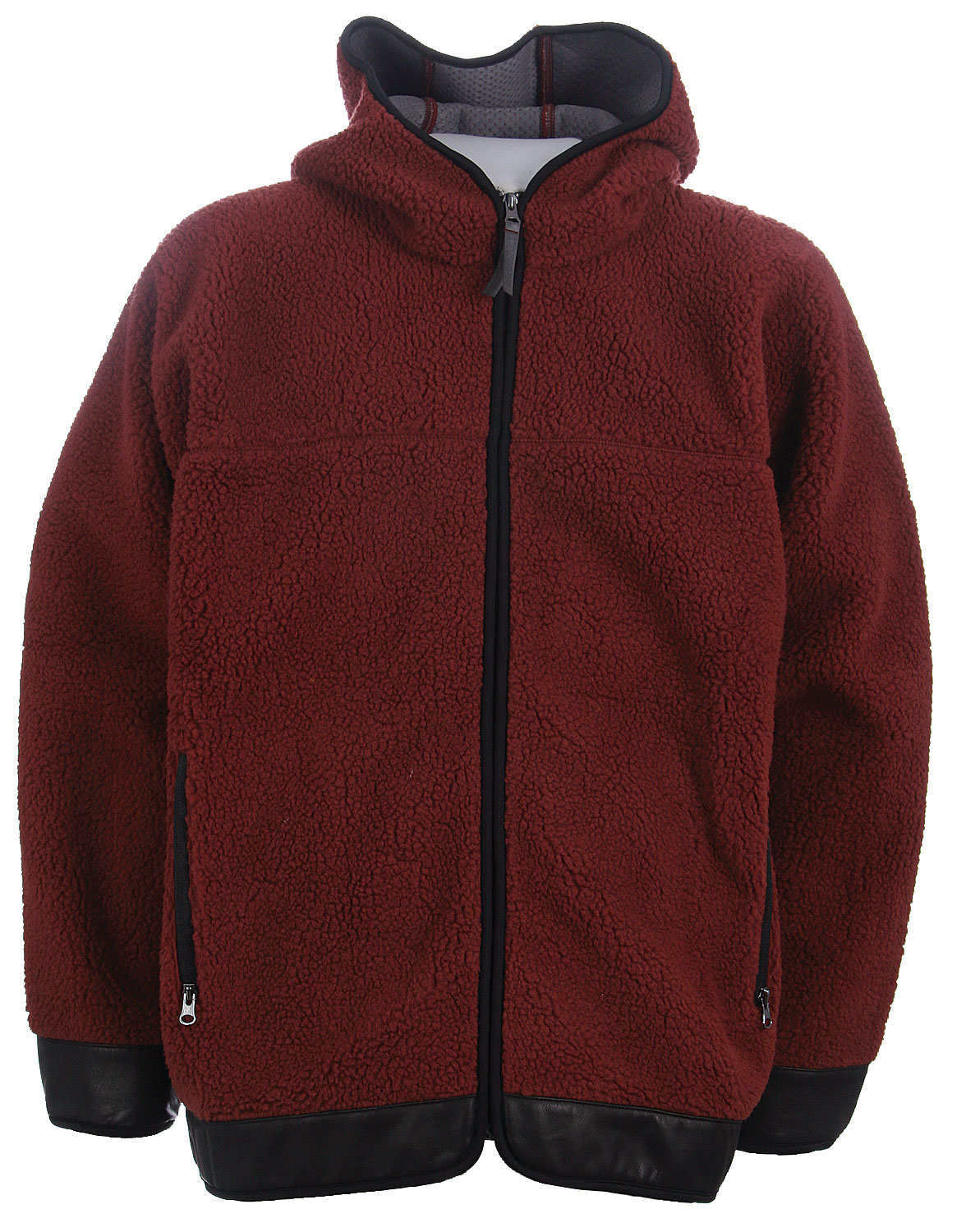 Snowboard The Burton Canal Fleece Parka is a water & wind resistant fleece with microfleece lining. - $48.95
