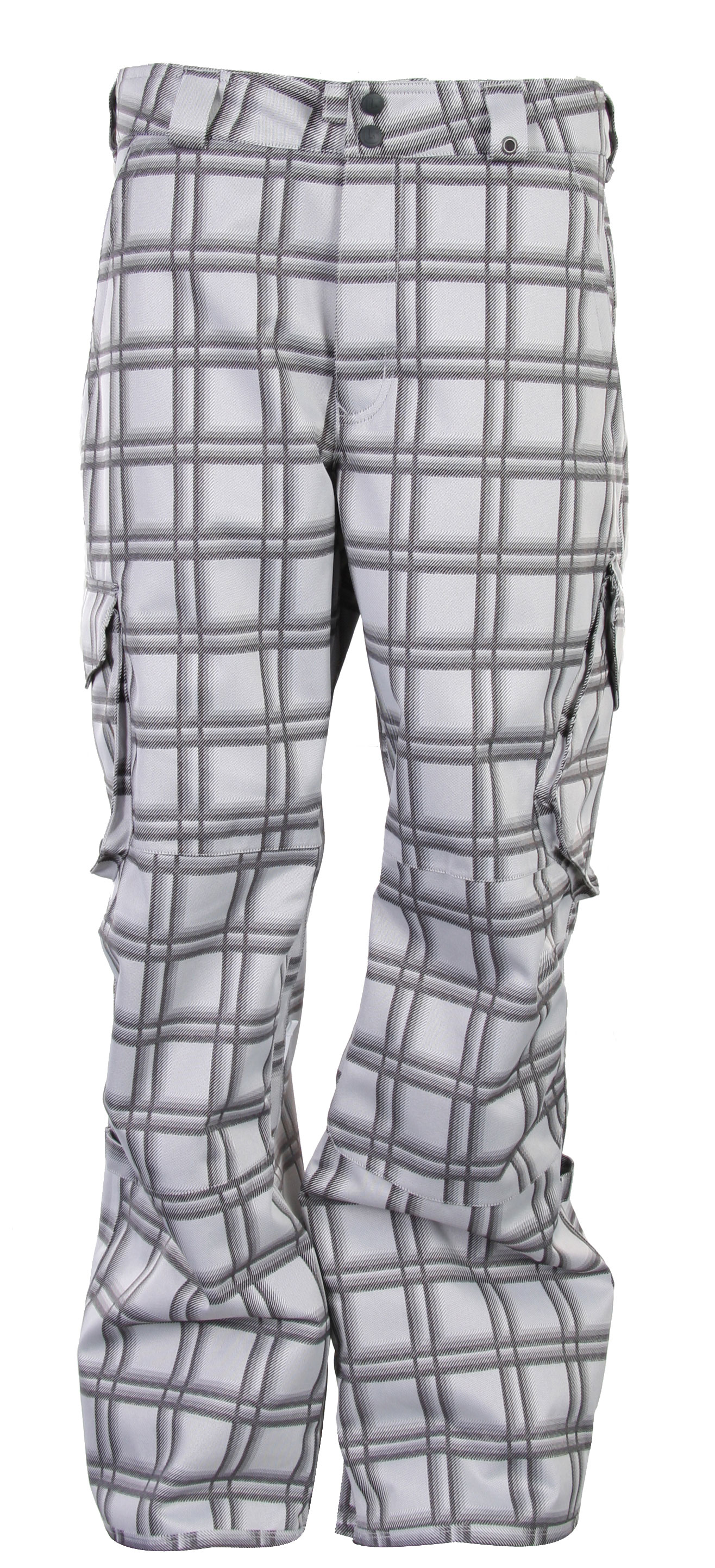 Snowboard The Burton Cargo Snowboard Pants provides an endless list of features making these pants a must-have this winter. Featuring a great bold print design throughout, flaunt it with style and confidence. Made with dryride ultrashell dual layered fabric, lining and venting, these pants are ultra comfortable and will surely keep you warm all day long. Dryride fabrication provides extra comfort. Stay dry and comfortable all throughout your snow adventure.Key Features of The Burton Cargo Snowboard Pants: 10,000mm Waterproof 5,000g Breathability DRYRIDE Durashell 2-Layer Coated Fabric [10,000MM, 5,000G] Fully Taped Seams Mesh Lining Includes Burton Pants Features Package Also available in Short and Tall Lengths Bellowed Cargo Pockets Curacao and Chlorophyll available in GMP and non GMP colorways Sig Fit - $82.95
