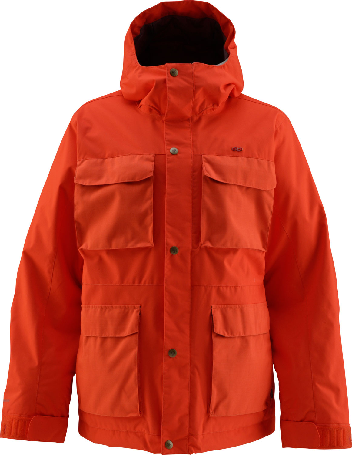 Snowboard Key Features of the Foursquare PJ Snowboard Jacket: 10,000mm Waterproof 10,000g Breathability Series: Insulated Material: 2L MicroShield Nylon Dobby fabric 60gm polyester insulation Critically taped seams Fulltime Hood Fulltime Powderskirt Stretch wrist warmers - $85.95