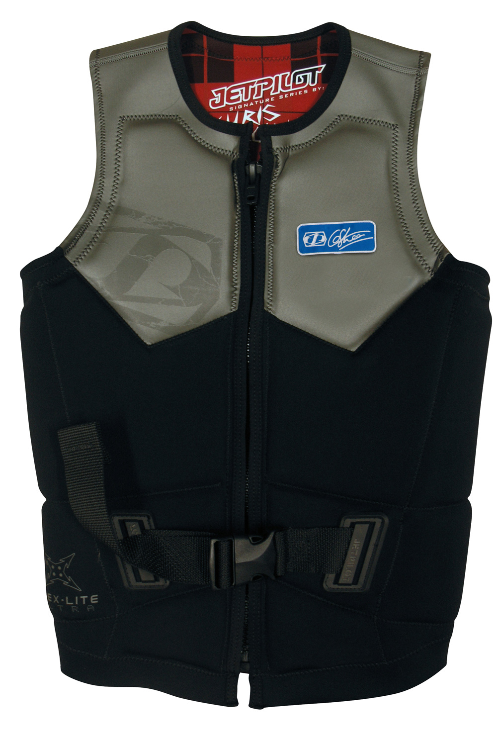 "Wake span style=""font-size: 13px; font-family: arial, sans, sans-serif"" Ditch the buckles and zip into the Jet Pilot Chris O'Shea Comp Wakeboard Vest. This neoprene vest is durable enough to handle all the water, sun and action you can drum up with spending your day out on the lake. The 100% flex-lite stretch panels make this vest easy to wear as it moves with you and won't restrict your range of motion. The design is lightweight so you won't feel bogged down. /span Key Features of the Jet Pilot Chris O'Shea Comp Wakeboard Vest: Chris Oshea's signature vest 100% Flex-Lite stretch panels Super Lightweight design for comfort and fit PVC Form core Custom Flannel print lining Glide skin upper panels for extra comfort - $91.95"