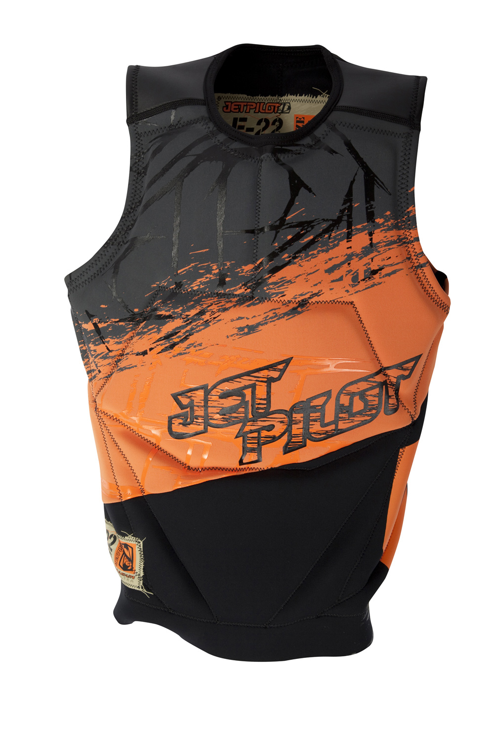 Wake Key Features of the Jet Pilot F-22 Comp Wakeboard Vest: All 2mm Neoprene Unmatched Stretch for performance A Classic pull over design Custom screen printed branding - $83.95